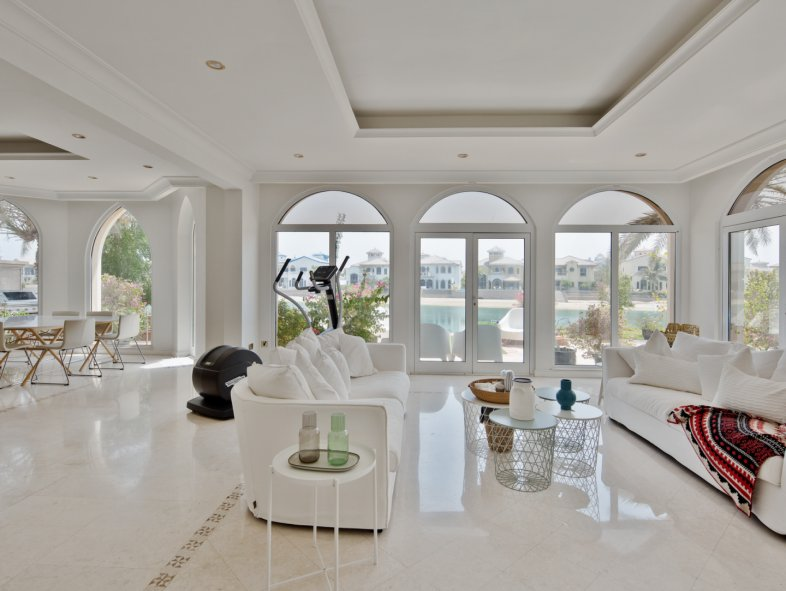 Villa available for rent in Garden Homes, Palm Jumeirah